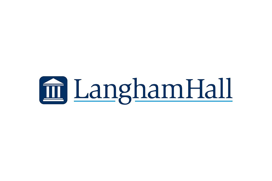 Player sponsor Langham Hall logo
