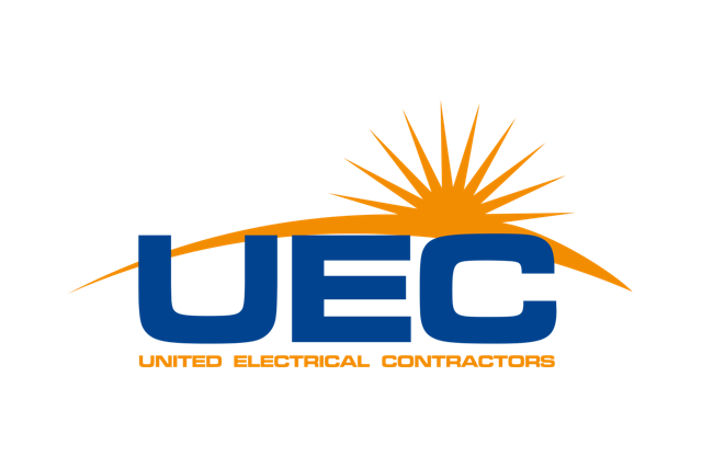 Player sponsor United Electrical Contractors logo